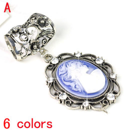Wholesale scarf slides pendants - New arrival Scarf DIY jewelry Necklace pendants Charms Pendant Jewelry scarf slide Findings slide accessories 6colors.PT-632