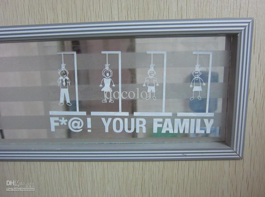 Custom Sticker For Glass