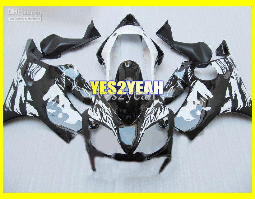 Kit de corpo de carenagem de injeção para Honda CBR600 F4I CBR600 F4I 2004 2005 2006 2007 CBR600F4I 04 05 06 07 Carenagem de carroçaria