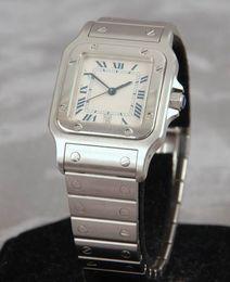 Wholesale Crystal Quartz Silver - Men's Stainless Steel Watch Panthere Medium Watches Ligne 21 Wristwatch