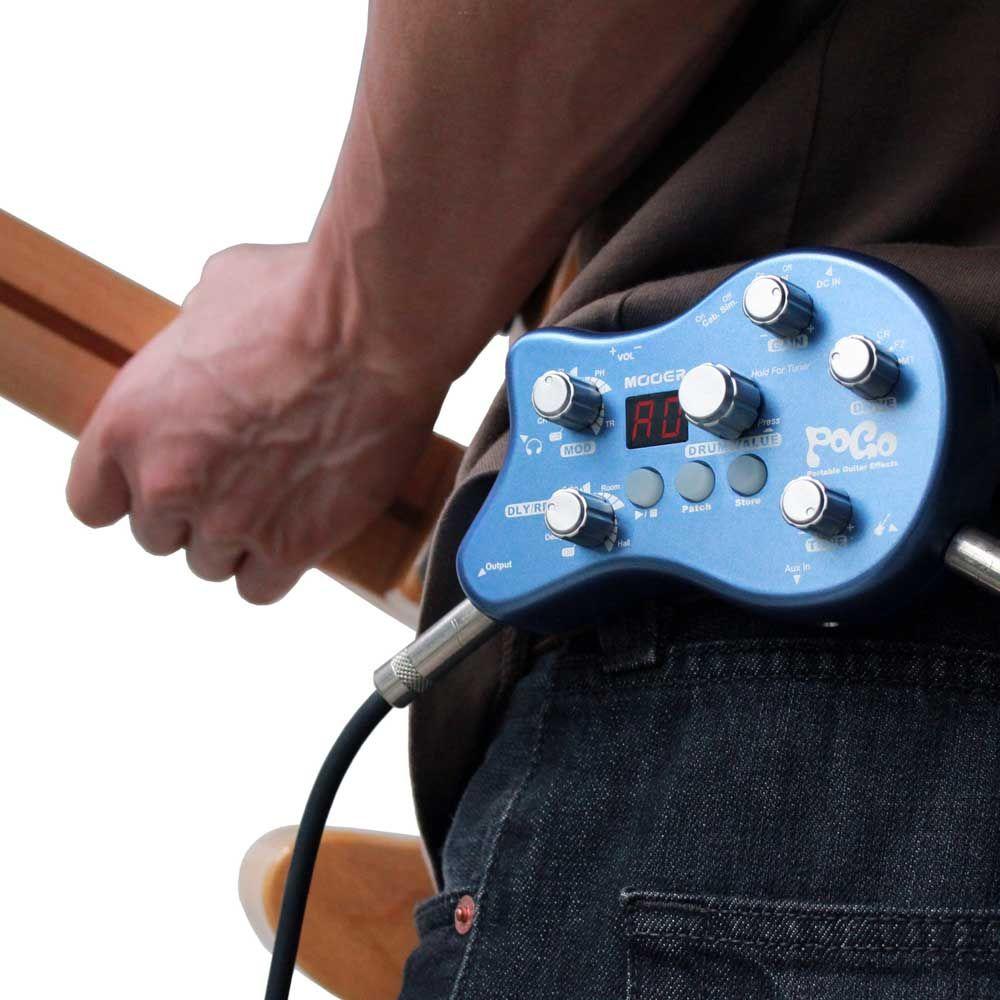 гитарные эффекты / дизайн педаль эффектов MOOER POGO портативный мульти педаль эффектов True bypass 5 эффект mod