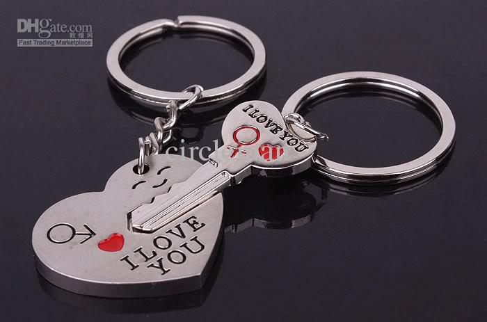 Personalized couple gifts alloy i love you heart lover couple personalized couple gifts alloy i love you heart lover couple keychain valentine gift novelty negle Image collections