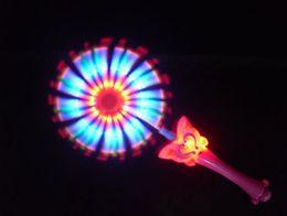 flashing windmill toys 2019 - 12pcs lot Windmill,Electric music windmills colorful 2012 New LED music flash windmill toy discount flashing windmill to