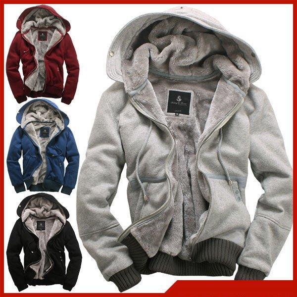 Hot Items 2016 New Men'S Plush Thick Warm Overcoat Winter Coat ...