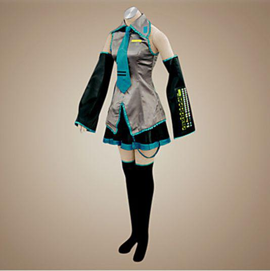 Vocaloid Miku 111 Cosplay Kostuum