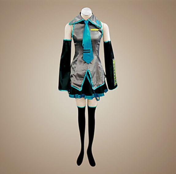 Vocaloid Miku 111 Disfraz de Cosplay