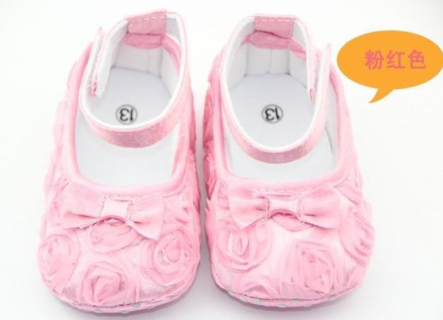 3 пары многоцветный Мэри Джейн малыш девочка цветок обувь розы обувь