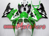 Wholesale Zx7r Green - Fairing kit for KAWASAKI ZX-7R 96-03 ZX7R 1996-2003 7R 96 97 98 99 ZX 7R 00 01 02 03 green 7811