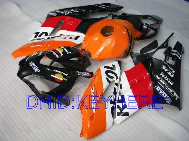 Injectie Gevormde Repsol Fairing Kit voor HONDA CBR1000RR 2004 2005 CBR 1000 RR 1000RR 04 05 CBR1000
