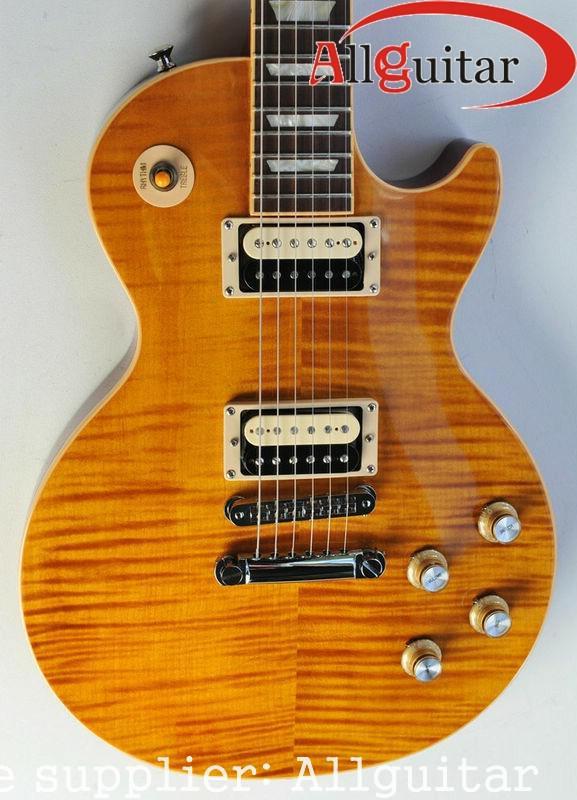 Chine guitare Slash Appetite AFD VOS naturel jaune guitare électrique VENTE CHAUDE