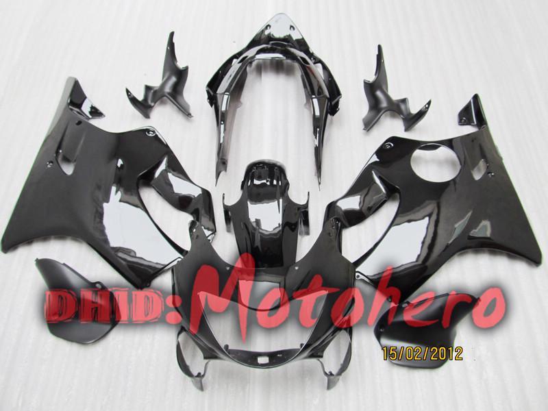 Fairing kit for HONDA CBR600F4 1999-2000 CBR 600F4 CBR600 F4 600 F4 99 00 1999 2000 black+windscreen