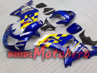 Wholesale Gsxr Movistar Fairing - BLUE movistar Bodywork fairing kit FOR GSXR 600 750 K1 2001 2002 2003 GSXR750 01 02 03 GSX-R600 GSX-R750 01-03 Fairing kit