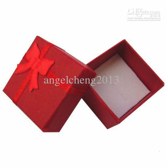 anel, brinco, pingente de jóias embalagens dom caixa de exibição amor favor do casamento caso saco da embalagem
