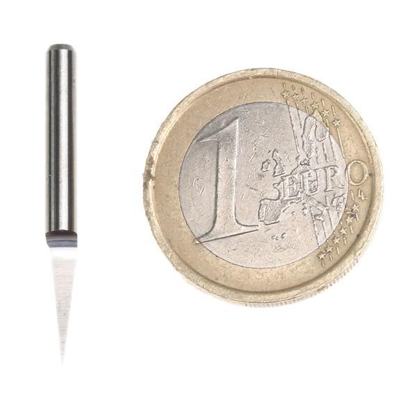새로운 카바 인 PCB CNC 조각 기계 라우터 V 비트 10도 0.3 mm # SM439 @ CF