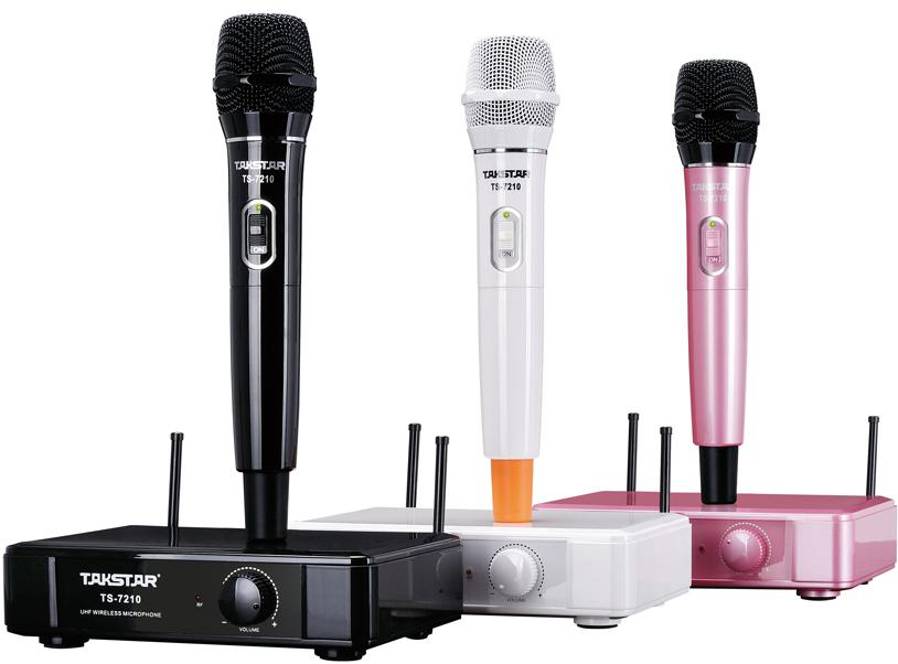 Christmas gifts New Brand Takstar TS-7210 UHF Wireless Microphone System 790MHz-805MHz Operating