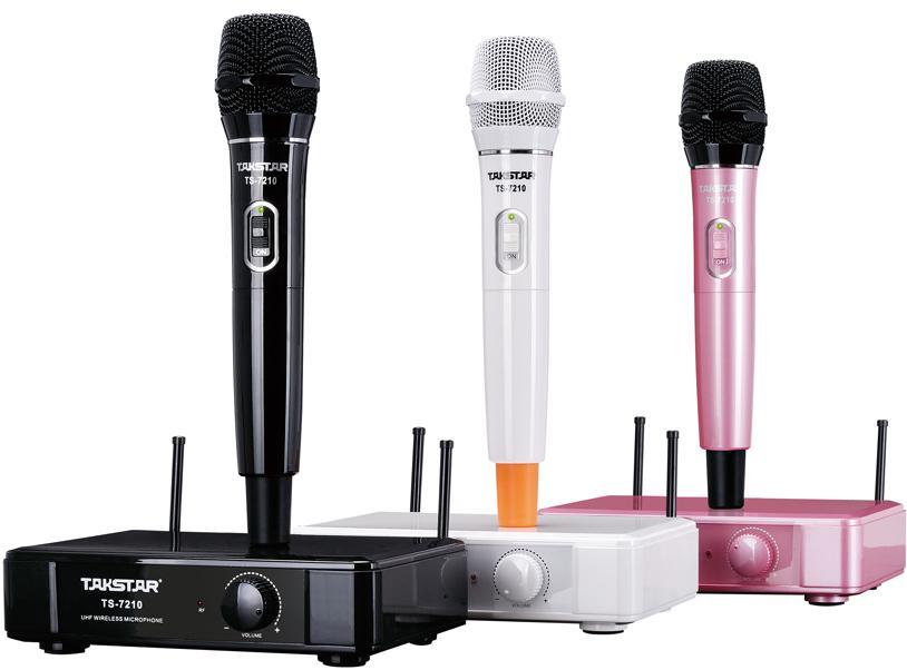 Julklappar Nytt märke Takstar TS-7210 UHF Wireless Microphone System 790MHz-805MHz Drift
