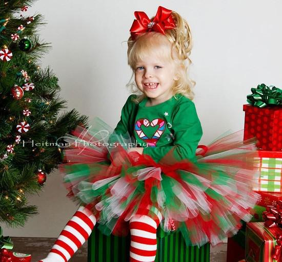 Girls Holiday Clothing: Christmas Tutus: Baby Christmas Tutus: Girls Christmas Outfits HUGE SALE 2 Days Only. Up to 50 off select Christmas Items. Buy Now and Save BIG Dress your little angel in one of our festive and sassy girls Christmas clothing and tutus. Our girls Christmas outfits and tutus are great for family photo cards, holiday parties and even Christmas themed birthday parties.
