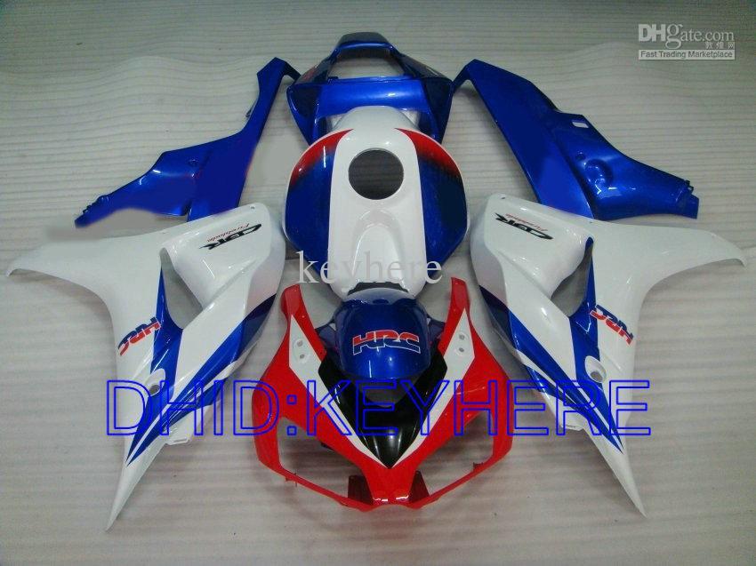 Injektionsgjutning HRC Fairing Kit för 2006 2007 Honda CBR1000RR CBR 1000 RR 1000RR 06 07 CBR1000