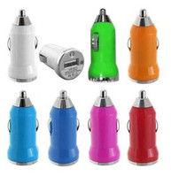 Wholesale Iphone 3g Adapter - Mini USB Car Charger Adapter Universal for iPhone 6s 6plus 6 5s 5 4 4S 3G 3GS ipod mp4 samsung s6 edge s6 s5 note 5 4 3 colorful 500pcs lot