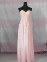 Wholesale Long Sleeve Prom Dreses - Sweetheart Sleeveless Chiffon Bridesmaid Dresses in the movie 'Maid In Manhattan' Celebrity Dreses Prom Bridesmaid Dresses