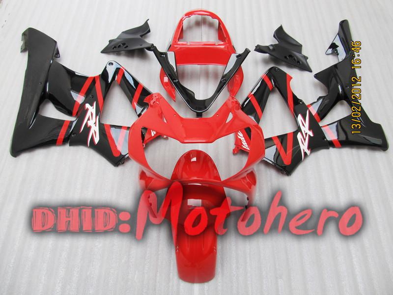 Carenado para CBR900 RR CBR 929RR 00-01 CBR 900RR CBR929 RR CBR900RR CBR929RR 00 01 2000 2001 rojo blk