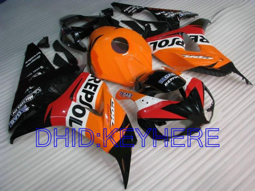 REPSOL Carénage de moulage par injection pour Honda CBR1000RR 2006 2007 CBR 1000 RR 06 07 CBR1000 kit de carénage