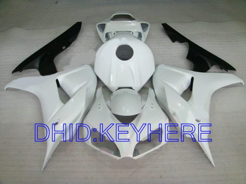 Carroçaria de injeção preta para Honda CBR1000RR 2006 2007 CBR 1000 RR 06 07 Kit de carenagem CBR1000