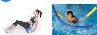 ingrosso schiuma rullo blu-JOINFIT 18 '' Pilates yoga foam roller sport asta bilanciere asta albero rullo di nuoto regalo blu