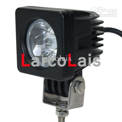10W Cree High Power LED Arbeit Licht Lampe Offroad 4WD 4x4 12 v 24 v LKW SUV ATV Flut Scheinwerfer LARCOLAIS