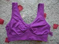 Wholesale Sport Slimming Bra - 9 colors sport Sexy Bra women yoga bra Slimming Underwear Seamless top quality