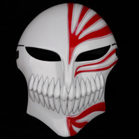 Wholesale White Ichigo - Halloween Mask Death Cosplay BLEACH Ichigo Kurosaki Masks