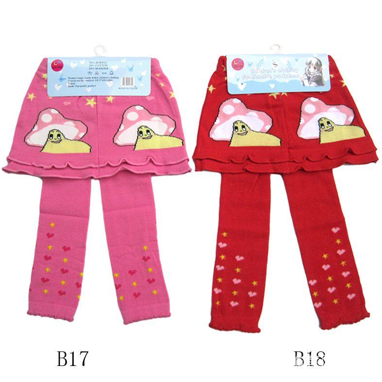 Leggings para niñas Medias con faldas Culottes al por mayor BabyKids Ropa Falda para niños Pantalón para niñas