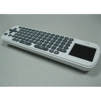 Wholesale Rc12 Wireless - Measy RC12 2.4GHz Wireless Mini Air Mouse Touchpad Handheld & Keyboard for TV Box IPTV free shipping