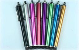 Wholesale Ipad3 Pen - Capacitive Screen Stylus Pen for ipad 2 new ipad 3 ipad2 ipad3 iphone 4 4G P1000 P7510 100pcs lot