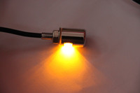 Wholesale Tail Light Motor - Yellow Amber Motorcycle Auto Truck License Plate Bolt Light LED motor lights led bulbs