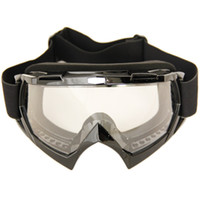 Wholesale Motorcycle Bmx Bike - Black Motorcycle Motocross Dirt Bike Cross Country Flexible Goggles Adult BMX Bike Motocross