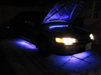 Wholesale Undercar Led Lights - Undercar lights LED auto lamps RGB Flash Under Glow Lamp 7 Colors Pattern Car Truck Decoration LED S