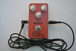 Wholesale Guitar Pedal Joyo - British Classic Rock Crunch Distortion Guitar Effect Pedal True Bypass JOYO + Free Guitar cable 2.8m