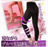 Wholesale Overnight Slimming Socks - Overnight Slimming Stockings Socks Beauty Leggings Shaper Compression Burn Fat Thin Socks 50pcs lot