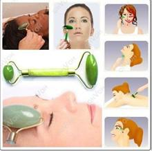 Wholesale Nose Slimmer - 20pcs lot Chinese Royal Jade Roller Facial Face Neck Slimming Massager Beauty Tool New