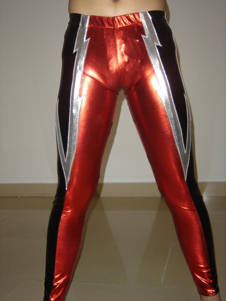 Lycra spandex latex / rubberen zentai jeugdworstelen singlet panty / broek kostuum outfit voor kinderen