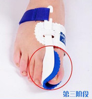 Wholesale Splint Corrector - Retail Blue Toes Bunion Night Splint Corrector for Great Toe Health Nail Care Tools ,Free Shipping