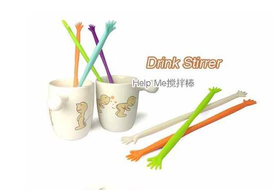 Neue Kaffee trinken Milch Stick Rührer Rühren für Küche Bar Cocktail Drink Hilfe mir 100 Stück gut im Aussehen