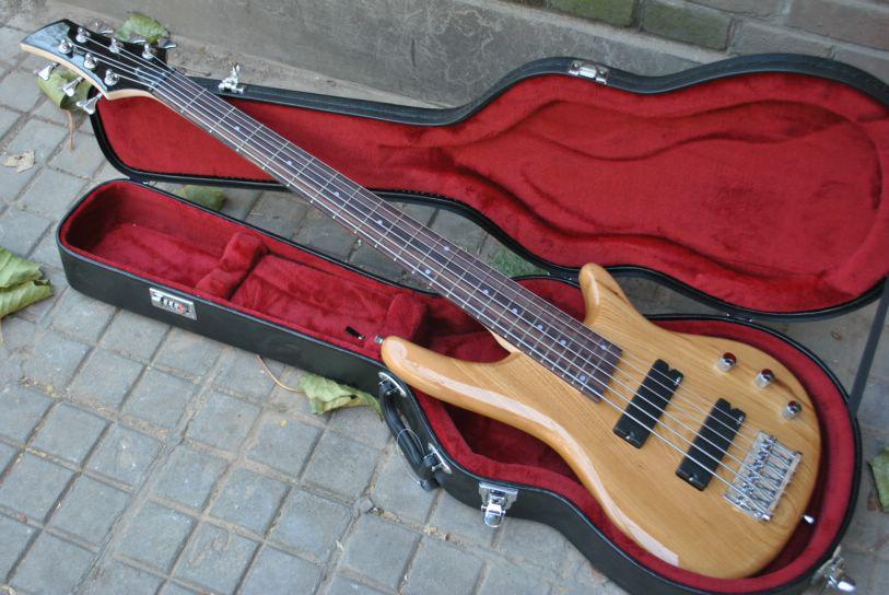 6 strings bass guitar rosewood fingerboard natural electric bass guitar chinese guitar bass. Black Bedroom Furniture Sets. Home Design Ideas