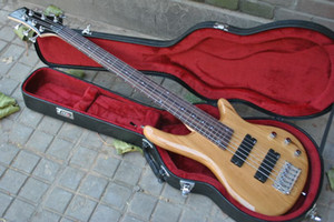 Wholesale chinese bass guitar resale online - 6 strings bass guitar Rosewood fingerboard natural electric bass guitar Chinese guitar