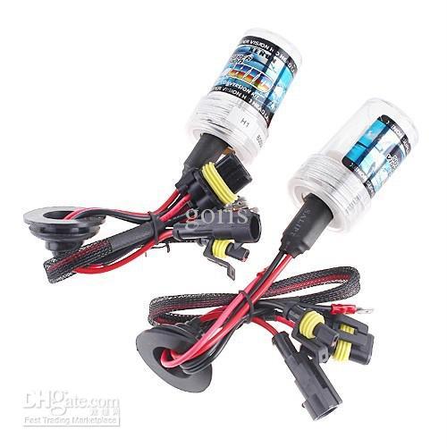 12V 35W AC xenon ampuller Araba Far Ampüller hid ampul xenon lamba H27 880 881 renk 3000k sarı ampul mor lamba pembe açık yeşil seçebilirsiniz ...