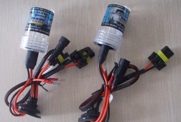 35W Single beam hid xenon bulbs 9005 9006 H1 H3 H7 H11 H10 880 881 D2S D2C D2R HID Xenon Car Headlight Bulbs 12V without ballast