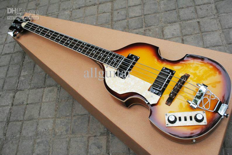 Linkshandige Viola Bass 4 Strings Viola Elektrische Bas Gitaar China Viool Bass