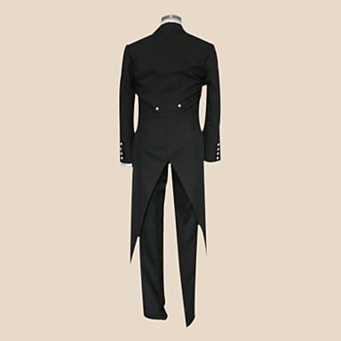 Black Butler Sebastian Michaelis Black Tie Cosplay Costume