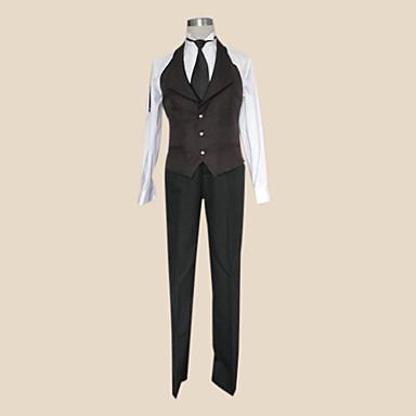 Black Butler Sebastian Michaelis schwarze Krawatte Cosplay Kostüm